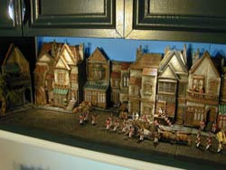 ww2 miniature buildings
