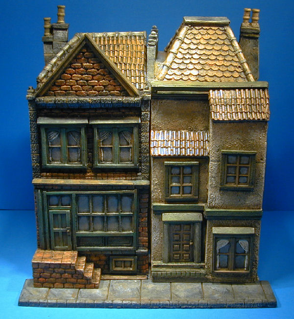 miniature wargame buildings