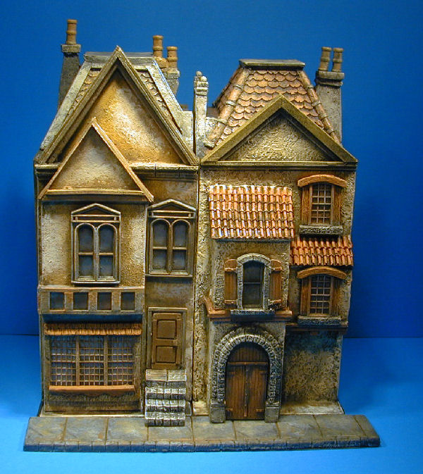 miniature roleplaying buildings