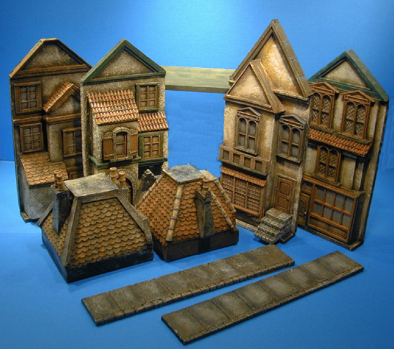 Kobblestone miniatures wargame buildings wminiature for House building packages