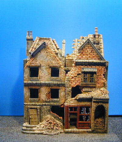Kobblestone Miniatures wargame buildings, wminiature ...