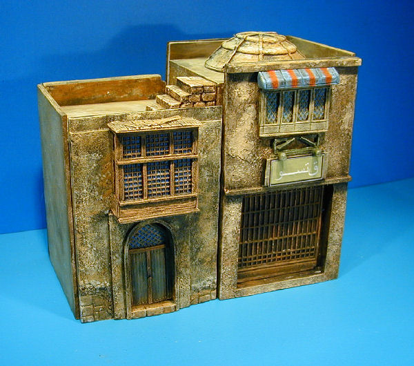 miniature middle east buildings
