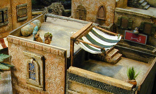 Middle Eastern Miniature Buildings