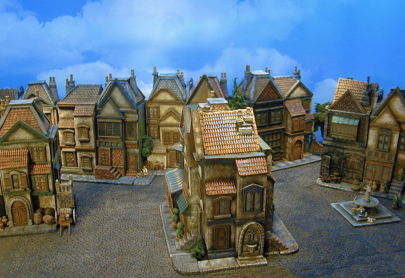 Kobblestone Miniatures Wargame Buildings Miniature