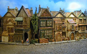 miniature buildings